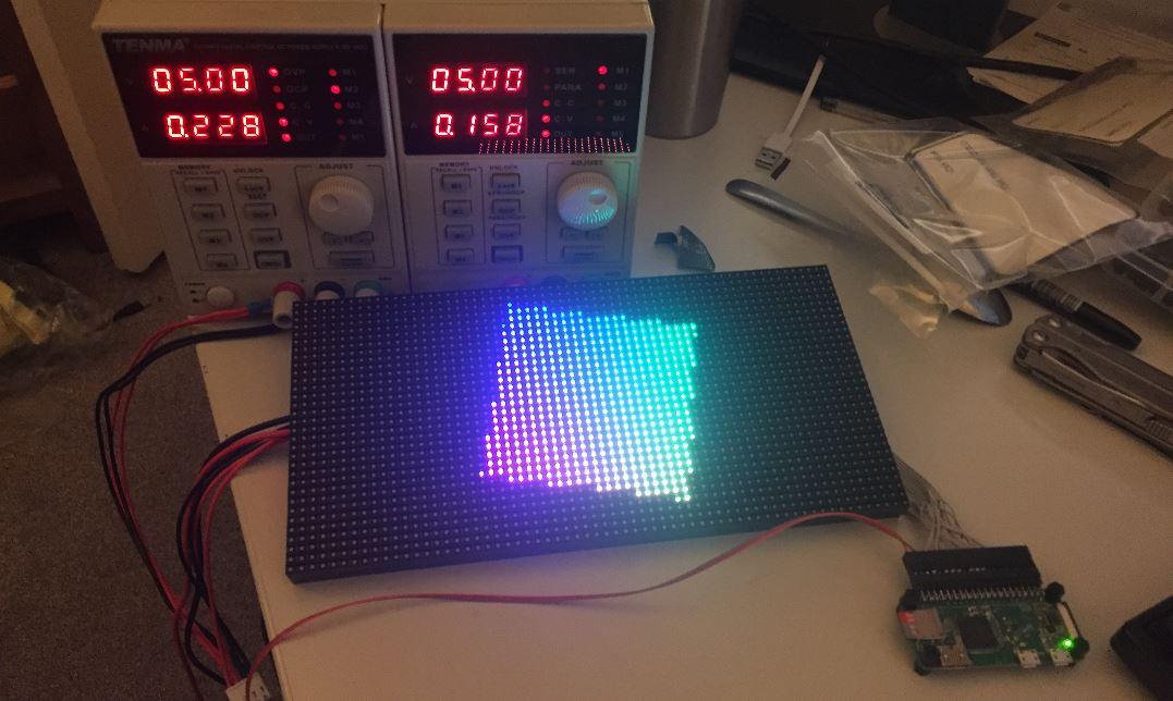 LED Wall Display (Part 1)